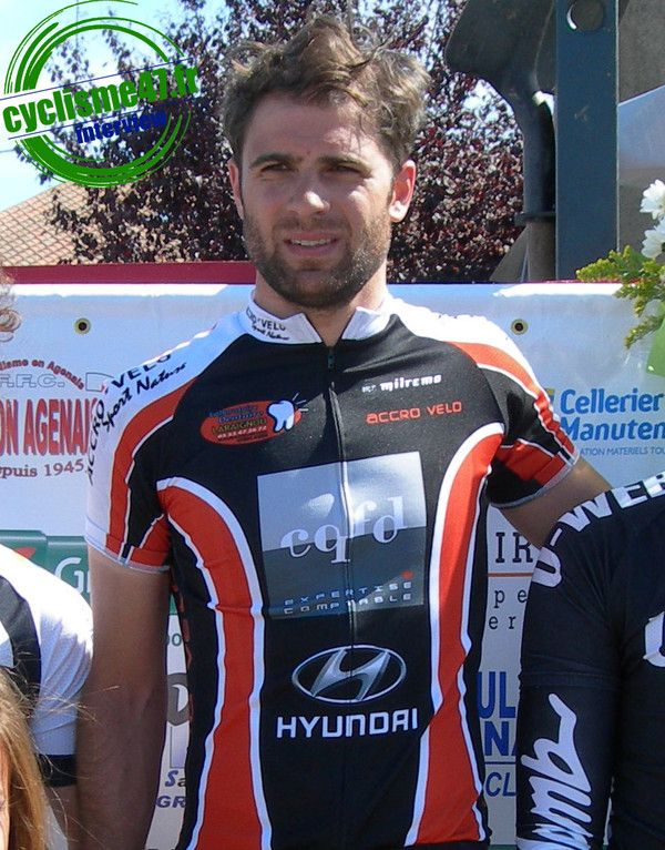Fabien Manfé sur cyclisme47.fr