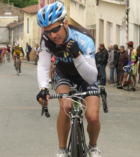 Damien Zanchettin vainqueur SUR LE gp d'Automne