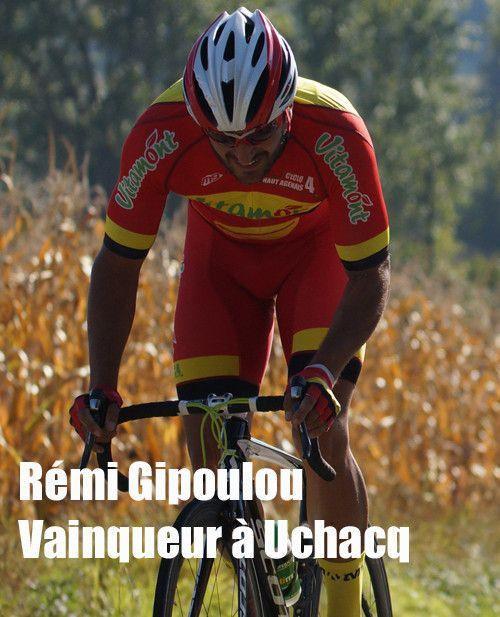 Rémi Gipoulou vainqueur à Uchacq