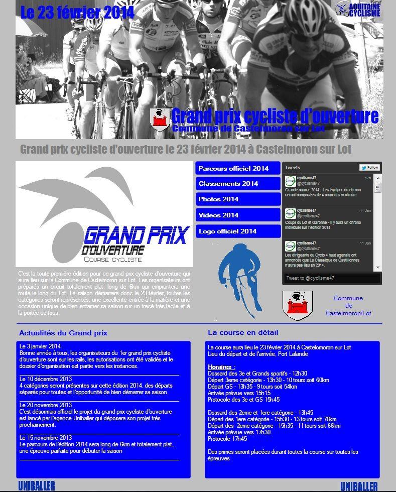Site officiel du grand prix d 39 ouverture for Finlandek site officiel